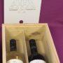 Kerstpakketen incl wijn - gelaserd 2vaks