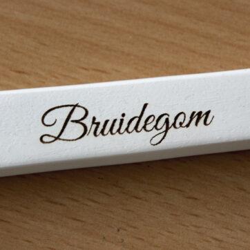 Kledinghanger Bruidegom