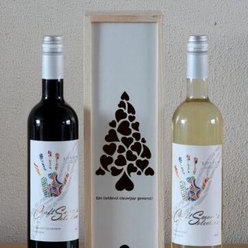 hartjesboom met wijn