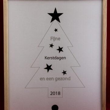 Kerst geschenkdoos Kerstboom