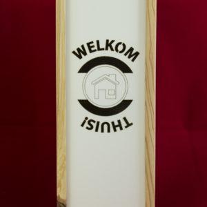 Wijnkist Welkom Thuis - 1 vaks