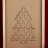 Wijnkist 2 vaks model Kerstboompjes