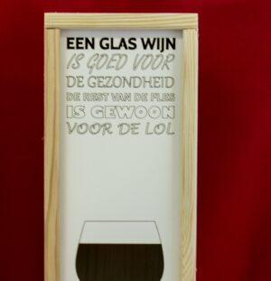 Wijnkist LOL - 1 vak